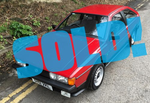 1990 VW Scirocco 1.8 GT auto