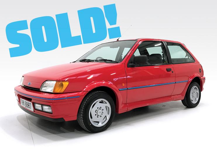1990 Ford Fiesta XR2i