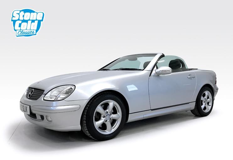 2000 Mercedes SLK320