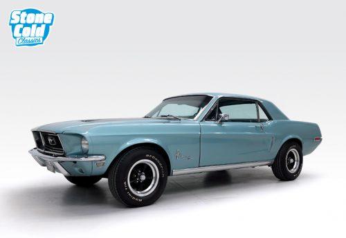 1968 Ford Mustang 302 manual J code