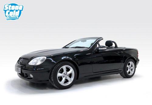 2001 Mercedes SLK320