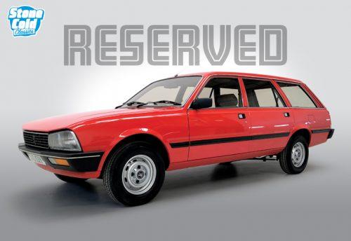 1982 Peugeot 505 GR estate auto