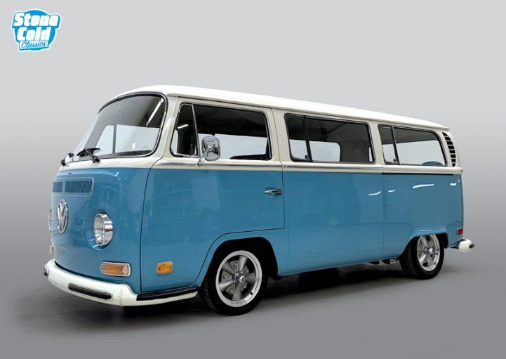 1970 Volkswagen T2 Deluxe Camper