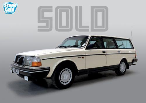 1989 Volvo 240 GL auto estate